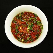 Hmong hot pepper sauce