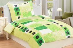 Heboučké mikroflanelové povlečení Verdoso je ideální volbou pro zimní či chladné dny a pro zimomřivé jedince. Zaujme především milovníky jara nebo zelené barvy.  Gramáž: 230 g/m2. Thing 1, Comforters, Blanket, Bed, Furniture, Montessori, Home Decor, Products, Creature Comforts