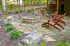 fire pit idea - wish I could convice the other half to do this.
