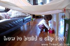 how to build a clip fort