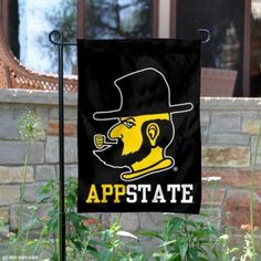 Appalachian State Yosef Garden Flag is 13x18 inches in size, made of 2-ply poly, and screen printed App State Mountaineers logos and insignias. Our...