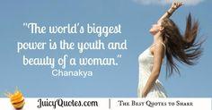 Quote About Beauty - Chanakya