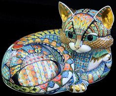 Kitten 4 - David Burnham Smith - Master Ceramic Artist