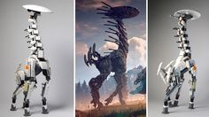 Instructions to build your own LEGO Tallneck from Horizon Zero Dawn #Playstation4 #PS4 #Sony #videogames #playstation #gamer #games #gaming