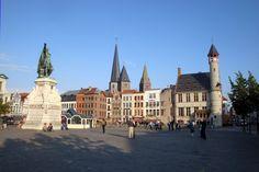 Plaza del Mercado en Gante.