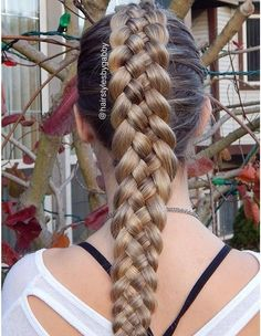 dutch five strand braid - Google Search