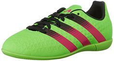 adidas Performance Ace 16.3 IN J Soccer Shoe (Little Kid/Big Kid) >>> Details can be found by clicking on the image.