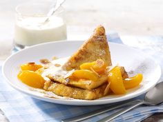 Frühstücksideen: French Toast mit karamellisierten Aprikosen