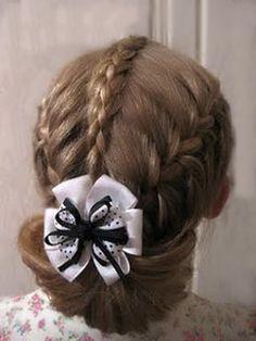 Красивая причёска для девочки - TUtuma | Дневники.Ykt.Ru МК