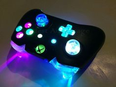 Xbox One Controller Full color changing LED mod by abxymods