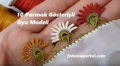 10 Parmak Gösterişli Oya Modeli Brooch, Floral, Flowers, Brooches, Royal Icing Flowers, Flower, Flower, Florals, Blossoms