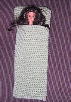 Suzies Stuff: FASHION DOLL SLEEPING BAG (C)