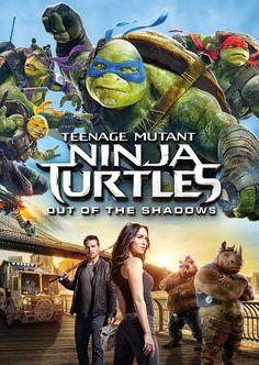 """DVD. Infantil. """"Tortugas ninja. Fuera de las sombras"""". Disponible en Biblioteca de La Estación."""