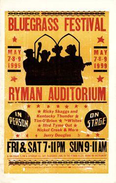 The Ryman - Hatch Show Print