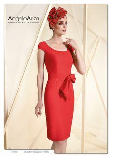 dac984df64 El rojo como protagonista para tu vestido de fiesta. Colección 2016