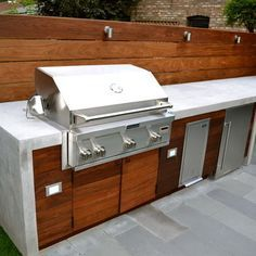 modern outdoor kitchen grill - Google Search