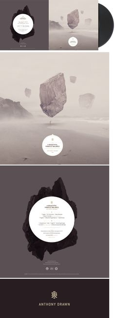 乾淨的末日 ARO / Christian Schupp - A beautiful fragile balance LP cover (Anthony…