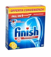 FINISH POWERBALL ALL IN 1 DISHWASHER TABLETS 39 PACK LEMON Dishwasher Tablets, Chemistry, Health And Beauty, Household, Fragrance, It Is Finished, Stains, Personal Care, Cleaning