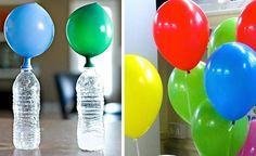 Mira una forma sencilla y natural de llenar los globos para los cumpleaños de los niños y otras actividades que requiera inflar un globo que flote en el ai