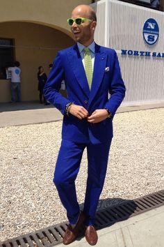 Elegantly bold (@Pitti Uomo '12)