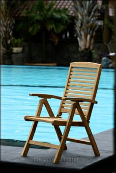 Teak Outdoor Furniture Chair by forsoer Collections