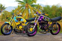 Yamaha Motorcycles, Cars And Motorcycles, King Club, Valentino Rossi 46, Drag Bike, Cycling Bikes, Drag Racing, Airbrush, Motorbikes