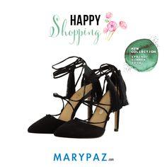Happy Shopping by MARYPAZ    Compartimos con vosotras nuestras sandalias New Collection SS/16 que te enamorarán y querrás tener en tu Wish List esta Primavera-Verano 2016  ¡ Disponible ya en tu tienda MARYPAZ más cercana y en marypaz.com !  #happyshopping #comprasfelices   Compra este STILETTO DE TACÓN aquí► http://www.marypaz.com/tienda-online/stiletto-de-punta-fina-con-borlas-57278.html?sku=73915-35