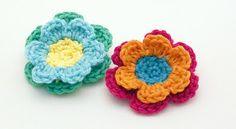 Leaves & Flowers crochet tutorial