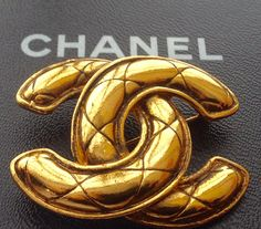 A personal favorite from my Etsy shop https://www.etsy.com/listing/224987700/authentic-vintage-chanel-cc-logo-gold