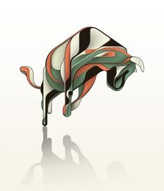 Animals Illustrations by Charles Williams Animal illustration by Charles Williams. Amazing how the forms shape this animal.Animal illustration by Charles Williams. Amazing how the forms shape this animal. Art And Illustration, Animal Illustrations, Animal Sketches, Animal Drawings, Art Drawings, Colorful Animals, Claude Monet, Animal Design, Animal Paintings