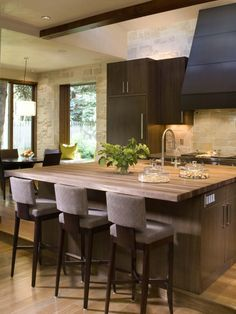 Kitchen Island With Sink And Sitting Design, Pictures, Remodel, Decor and Ideas - page 22