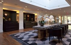 Hanover Inn Lighting Design | Architect: @cambridgeseven | Interior Design: Bill Rooney Studios | USAI Lighting