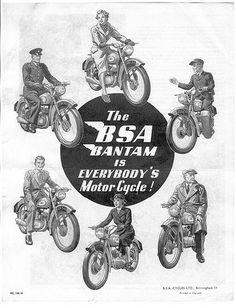 BSA Bantam Advert 50