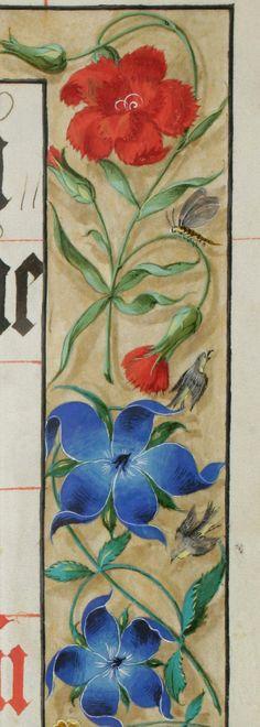 Canon de la messe pour l'évêque d'Augsburg, Marquard von Berg (1575-1591) Parchemin · 83 pp. · 38 x 26.5-27 cm · Augsburg · XVIe siècle St. Gallen, Stiftsbibliothek, Cod. Sang. 369: Canon missae (http://www.e-codices.unifr.ch/fr/list/one/csg/0369)