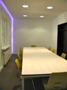 0001_Foto1 - Sitzungszimmer – Locher Ingenieure AG: Zürich – Beratung, Farbkonzept, Individualanfertigung - d sein werke