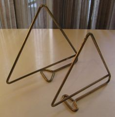 Bent Brass Rod Bookends by Poul Cadovius*SOLD*- White Trash NYC
