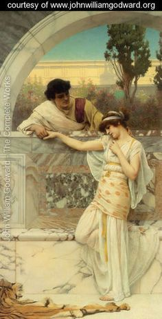 Yes Or No   2 - John William Godward - www.johnwilliamgodward.org