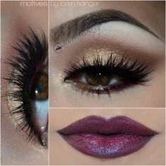 Sharing this stunning look by Aurora_Amor por el maquillaje using ALL Motives cosmetics!
