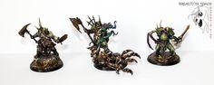 Putrid Blightkings #nurgle #AoS #ageofsigmar #gamesworkshop #warhammer #chaos #miniatures #minis