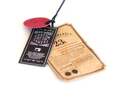 Herschel Supply Co Cotton Canvas Collection - Labels by Catkin Pritchard, via Behance
