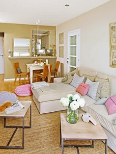 [Decotips] 10 Trucos para agrandar visualmente el salón | Decorar tu casa es facilisimo.com