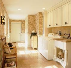 Refreshing Utility Room