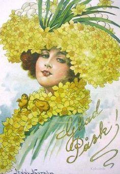 Jenny Nystrom (1854-1946). Glad Pask