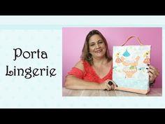 Porta Lingerie | Cantinho do Video Costura em Roupas