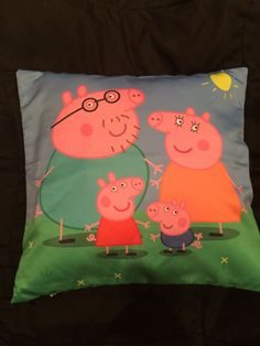 peppa pig pillow   peppa pig