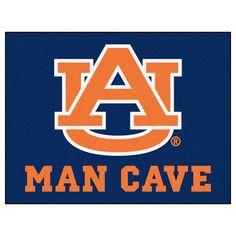 Auburn Tigers Man Cave Area Rug