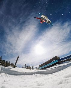 Photo of the Day! @timhumphreys is way up on the #GoProPark at @bear_mountain. Not a bad way to spend a Tuesday. #GoPro