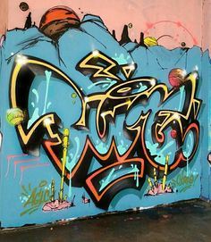 Grafitti Art.