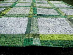 grass green quilt