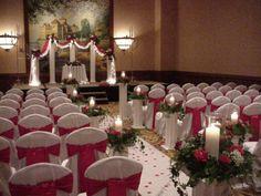 Shannon's Custom Florals Church Wedding Decorations (64)